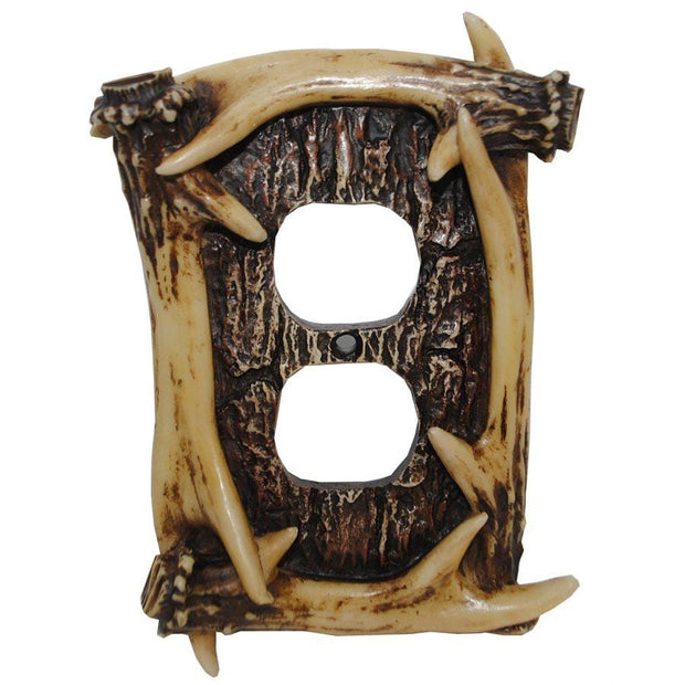Antler Outlet Cover Wall Plate