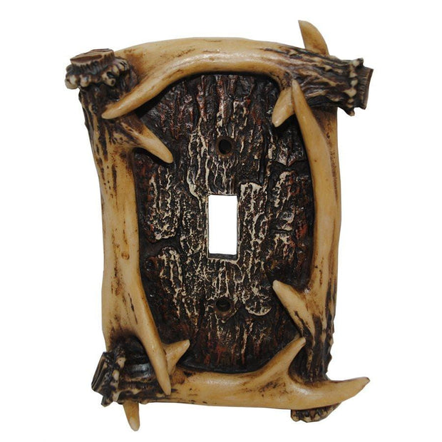 Antler Single Switch Wall Plate