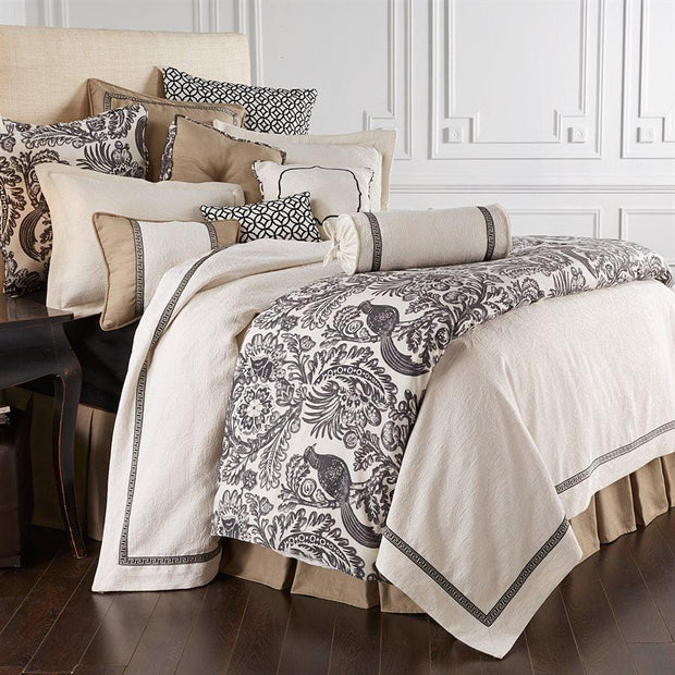Augusta 4-PC White Matelasse Coverlet Set