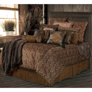 Austin 5-PC Bedding Set, Chocolate Paisley (Queen)