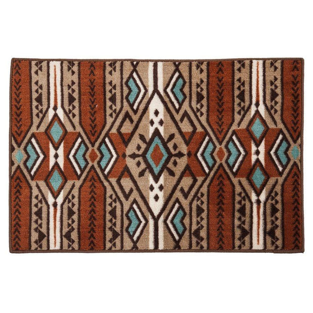 Aztec Stripe Kitchen/Bath Rug