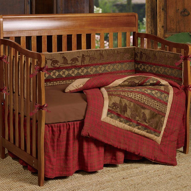 Baby Cascade Lodge 3-PC Crib Bedding Set