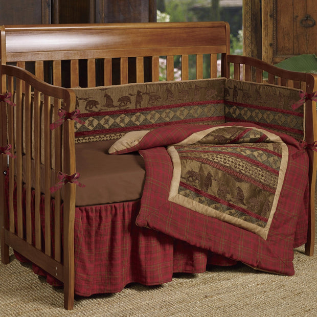 Baby Cascade Lodge Crib Bedding Set