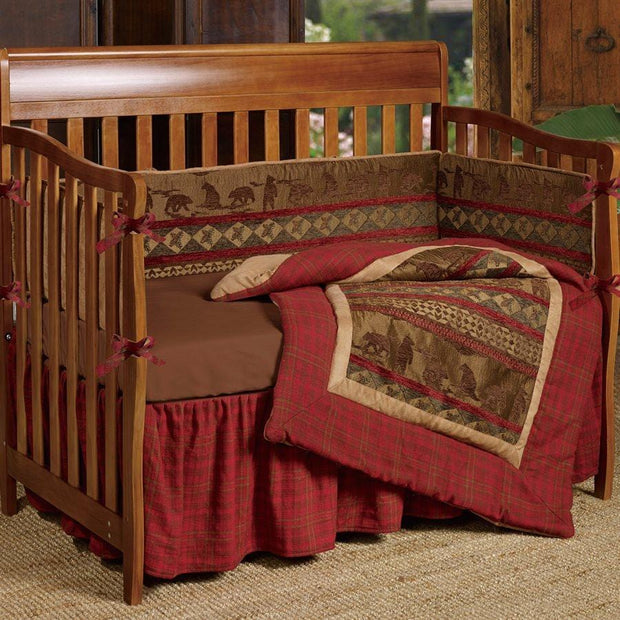 Baby Cascade Lodge Crib Bumper Set