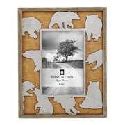 Bear Cutout Picture Frame, 4x6