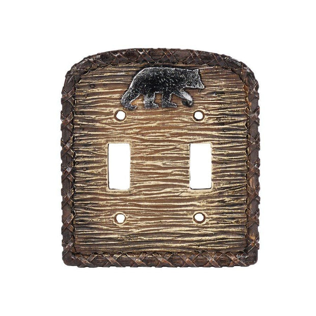 Bear Double Switch Wall Plate