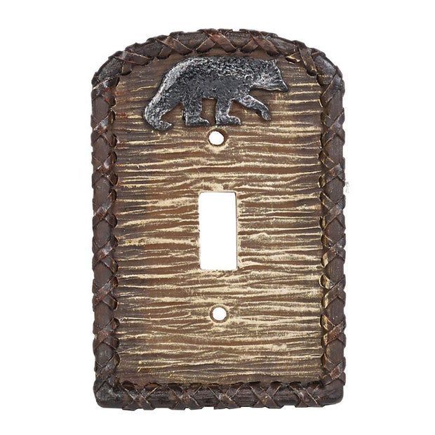 Bear Single Switch Wall Plate
