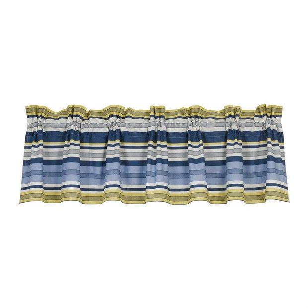 Beaufort Blue & Yellow Kitchen Valance