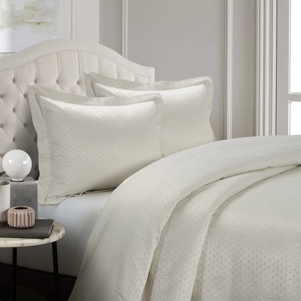 Belle 3-PC Sateen Cotton Bedding Set