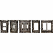 Birch Twig Double Switch Wall Plate