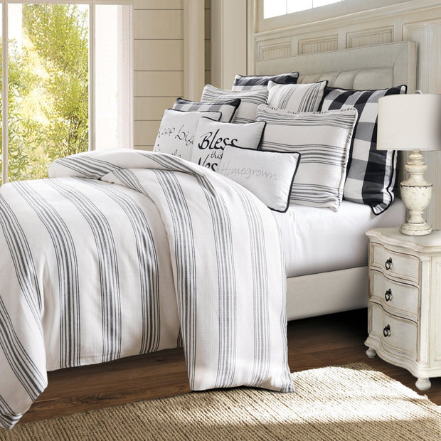 Blackberry 3-PC Farmhouse Bedding Set