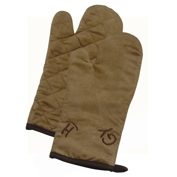 Cattle Brand Oven Mitt