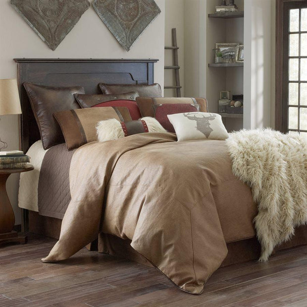 Brighton 4-PC Bedding Set, Tan