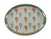 Cactus 25-PC Melamine Dinnerware Set