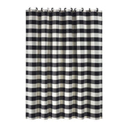 Camille Complete 18-PC Bathroom Set, Buffalo Check