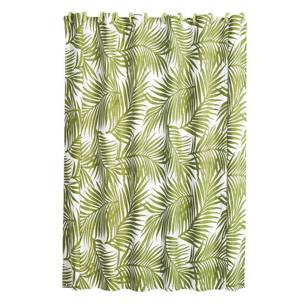 Capri Fern Coastal Shower Curtain