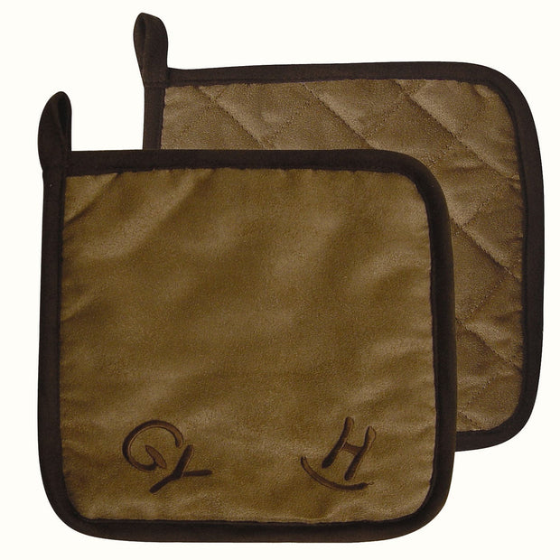 Cattle Brand Pot Holder