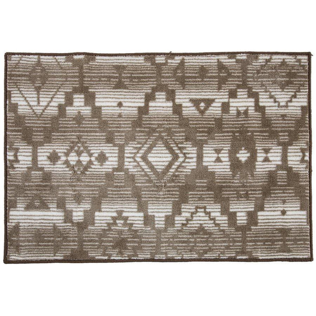 Chalet Aztec Print Kitchen/Bath Rug