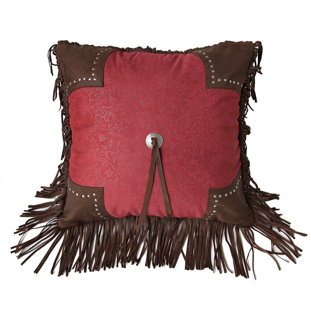 Cheyenne Scalloped Edge Throw Pillow (2 Colors)