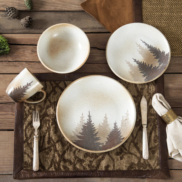 Clearwater Pines 16 PC Dinnerware Set