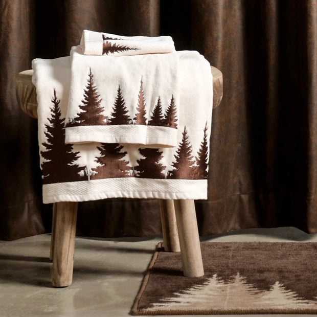 Clearwater Pines 8 PC Bathroom Set