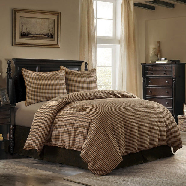 Clifton 3-PC Houndstooth Comforter Set, Brown