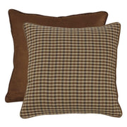 Crestwood Houndstooth & Suede Reversible Euro Sham