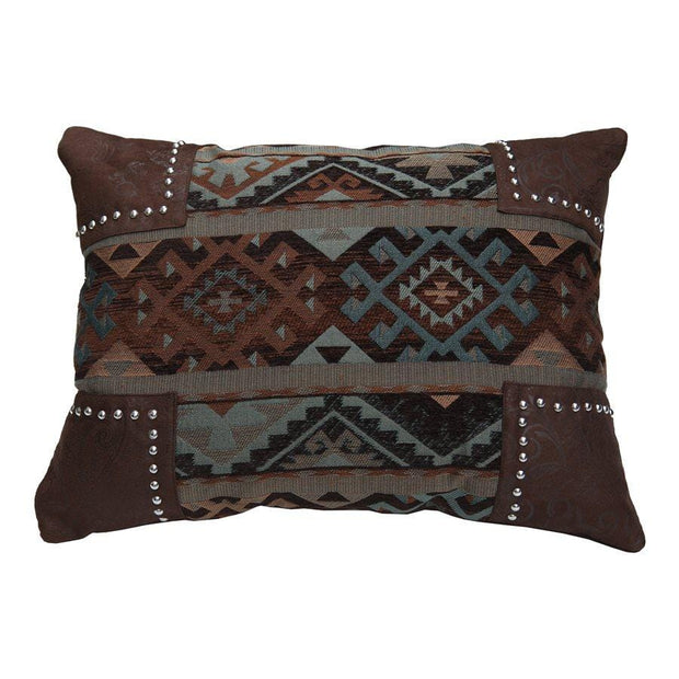 Del Rio Scalloped Chenille Oblong Pillow