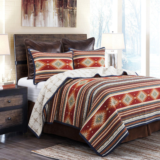 Del Sol 3 PC Reversible Quilt Set