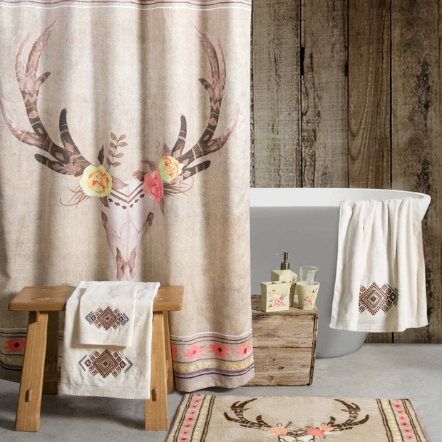Desert Skull Shower Curtain