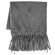Diane Embossed Velvet Throw Blanket, 2 Colors