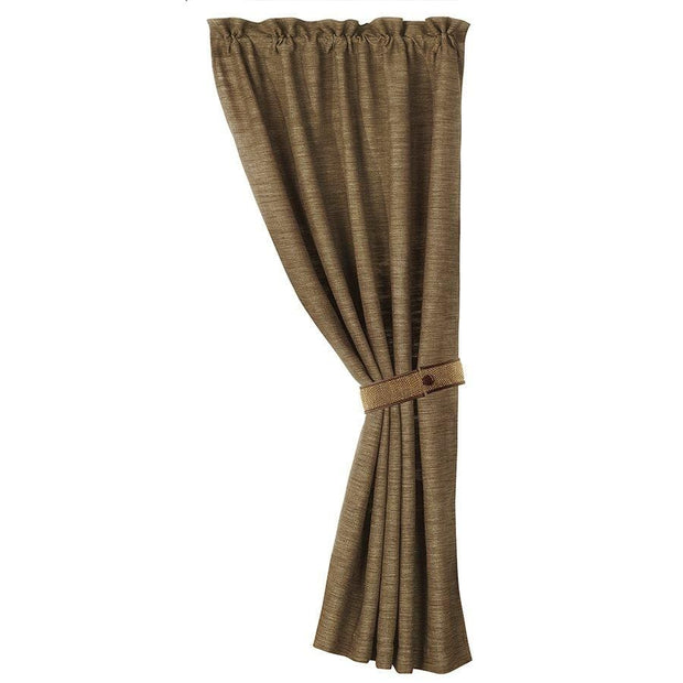 Highland Lodge Taupe Single Panel Curtain