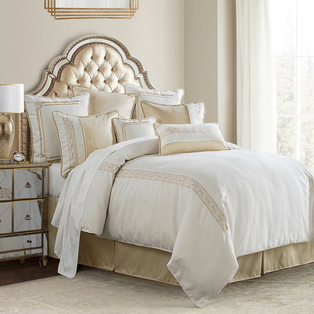 Hollywood 4-PC Modern Glam Comforter Set
