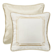 Hollywood Reversible Embroidery Throw Pillow