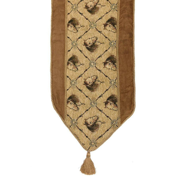 Horse Head Table Runner, 16x108