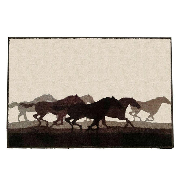 Horse Stampede Kitchen/Bath Rug