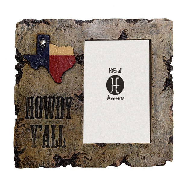 Howdy Y'all Picture Frame, 4x6
