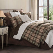 Huntsman 4-PC Comforter Set, Brown & Green Plaid