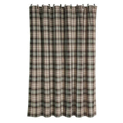 Huntsman Lodge-Style Plaid Shower Curtain