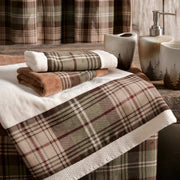 Huntsman Plaid 3-PC Bath Towel Set, Cream