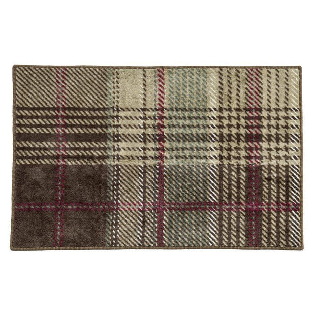Huntsman Rustic Plaid Kitchen/Bath Rug