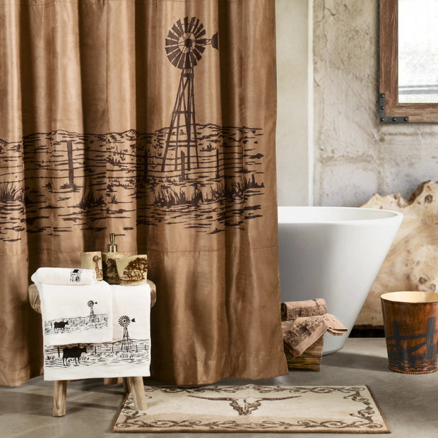 Jasper 3-PC Bath Towel Set, Mocha