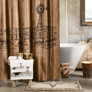 Jasper Country Landscape Shower Curtain