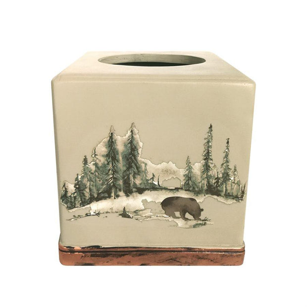 Joshua Lodge Snow Tissue Holder