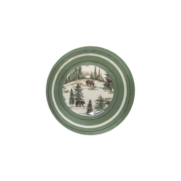 Joshua Lodge-Style 14-PC Melamine Dinnerware Set