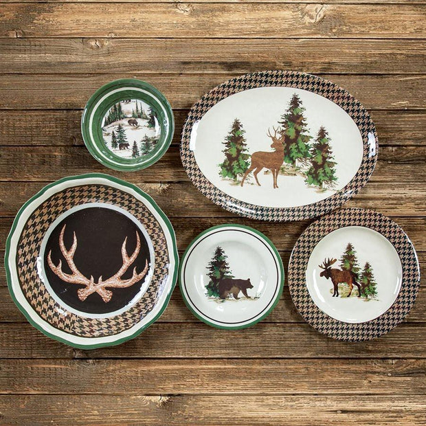 Joshua 4-PC Melamine Dinner Plate Set