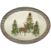 Joshua Lodge-Style Melamine Serving Platter (EA)