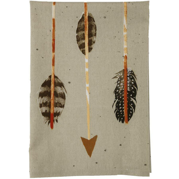 Large Arrow 5-PC Bohemian Tea Towel Set