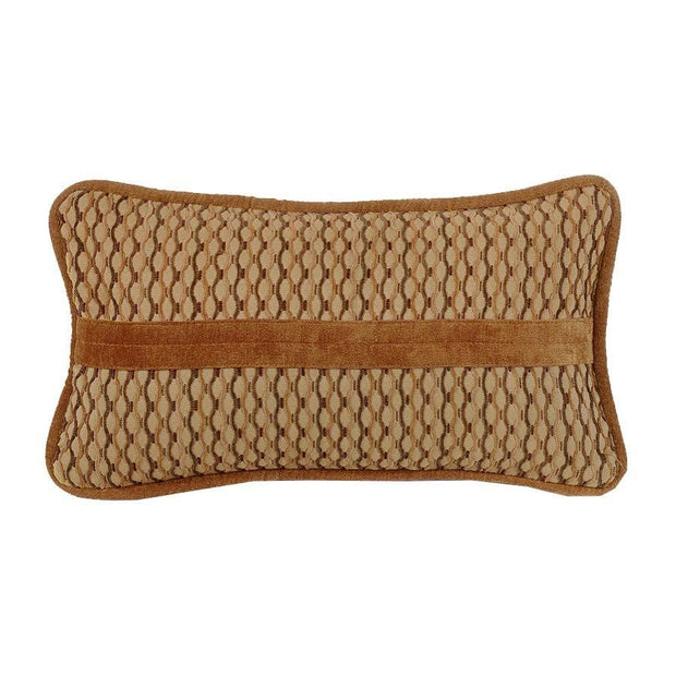Lexington Small Oblong Lumbar Pillow, Caramel