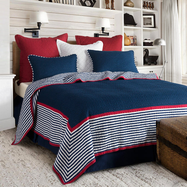 Liberty 3 PC Reversible Quilt Set